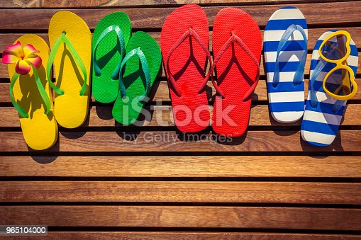 Summer Vacation Concept Stock Photo & More Pictures of Backgrounds