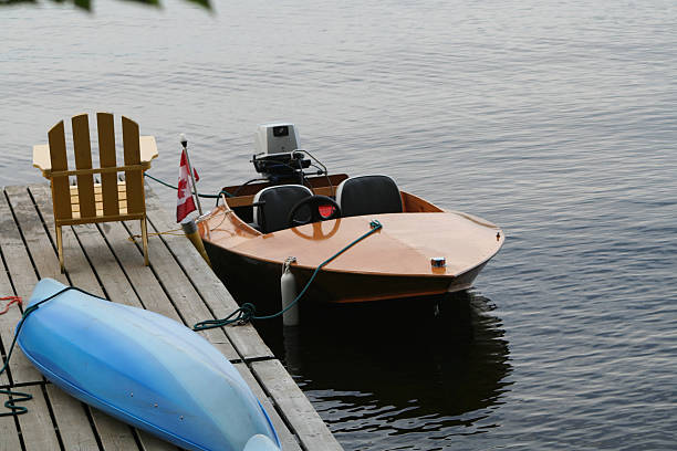 Kayak With Electric Motor Stock Photos, Pictures & Royalty