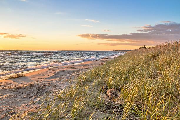 summer vacation - lake michigan stock pictures, royalty-free photos & images
