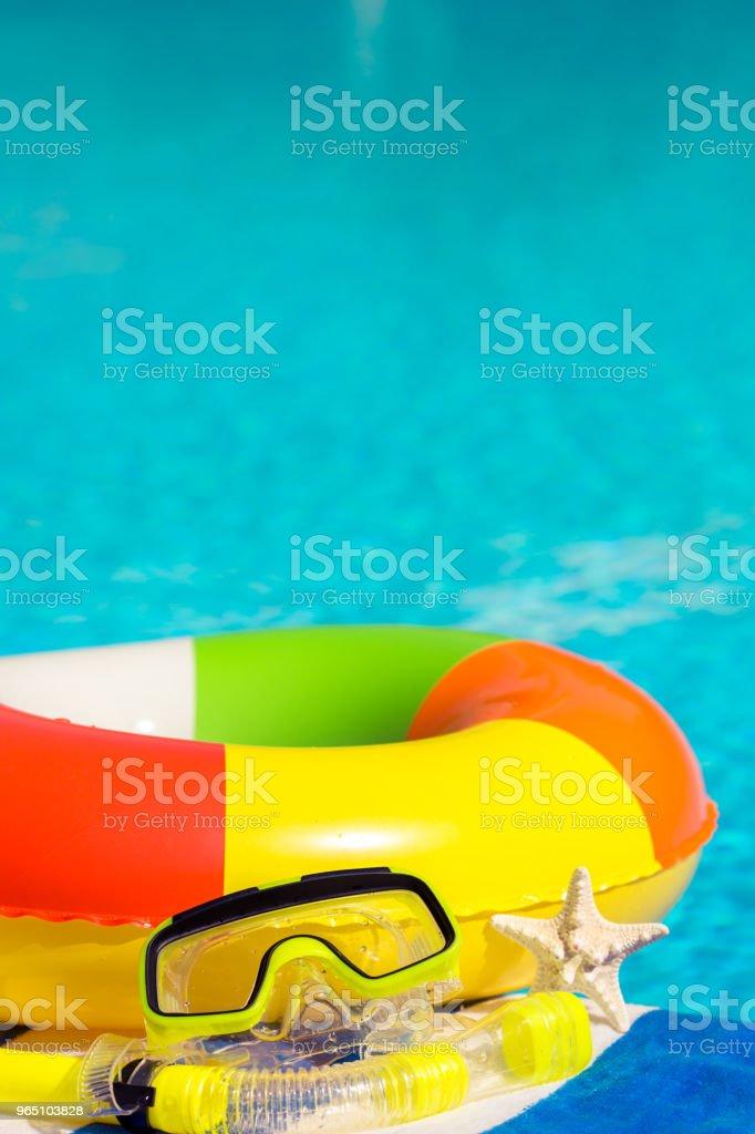Summer vacation zbiór zdjęć royalty-free