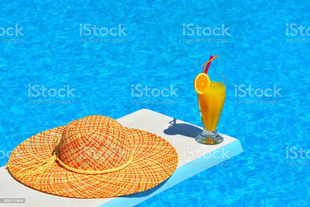 Summer vacation scene, vacation concept stock photo