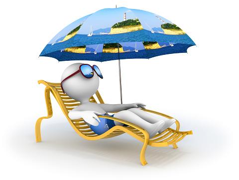 istock Summer vacation: seaside relaxation 815074966