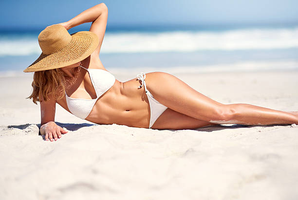 Summer vibes stock photo