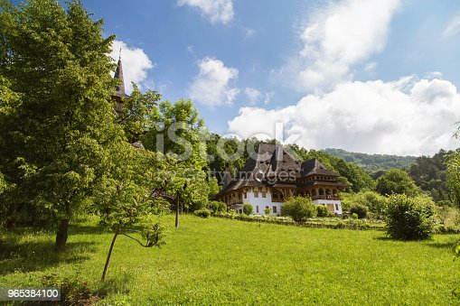 Summer View Of Barsana Monastery Stock Photo & More Pictures of Architecture