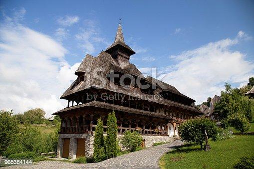 Summer View Of Barsana Monastery - Stockowe zdjęcia i więcej obrazów Architektura