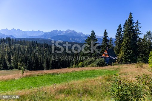 1130859000 istock photo Summer view of Tatra Mountains landscape 846710740