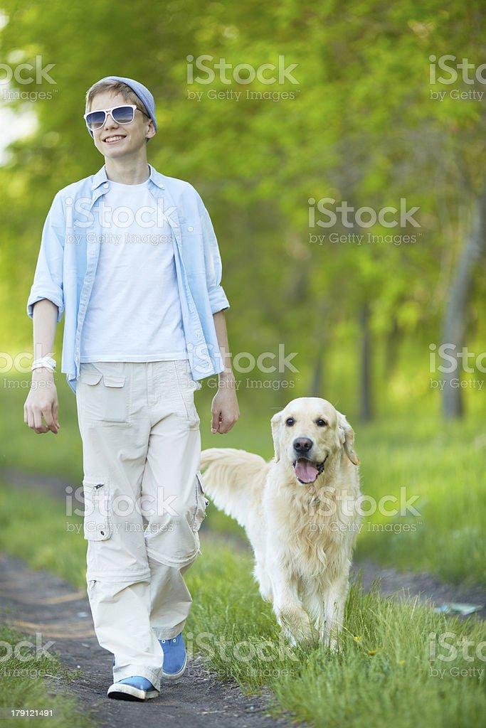 Summer walk royalty-free stock photo