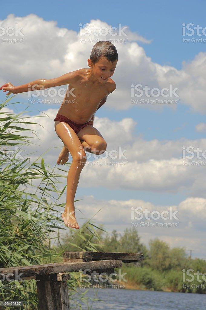 summer water fun royalty-free stock photo