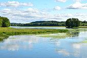 Summer Waters of the Ossekeag Hampton New Brunswick Canada
