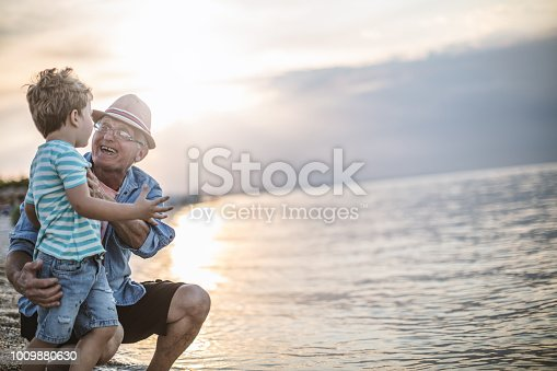 istock Summer with my Grandfather 1009880630