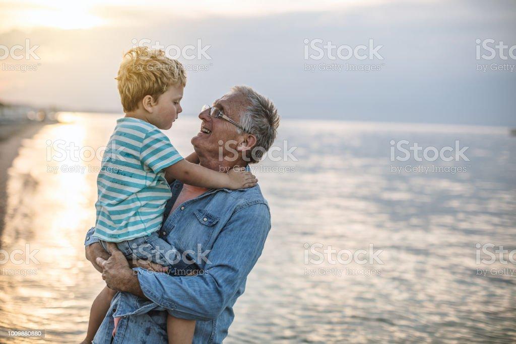 Sommer mit meinem Großvater – Foto
