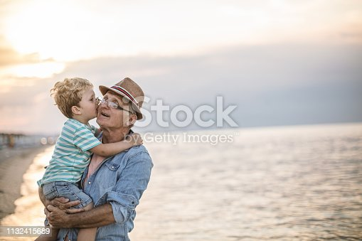 istock Summer with my Grandfather 1132415689
