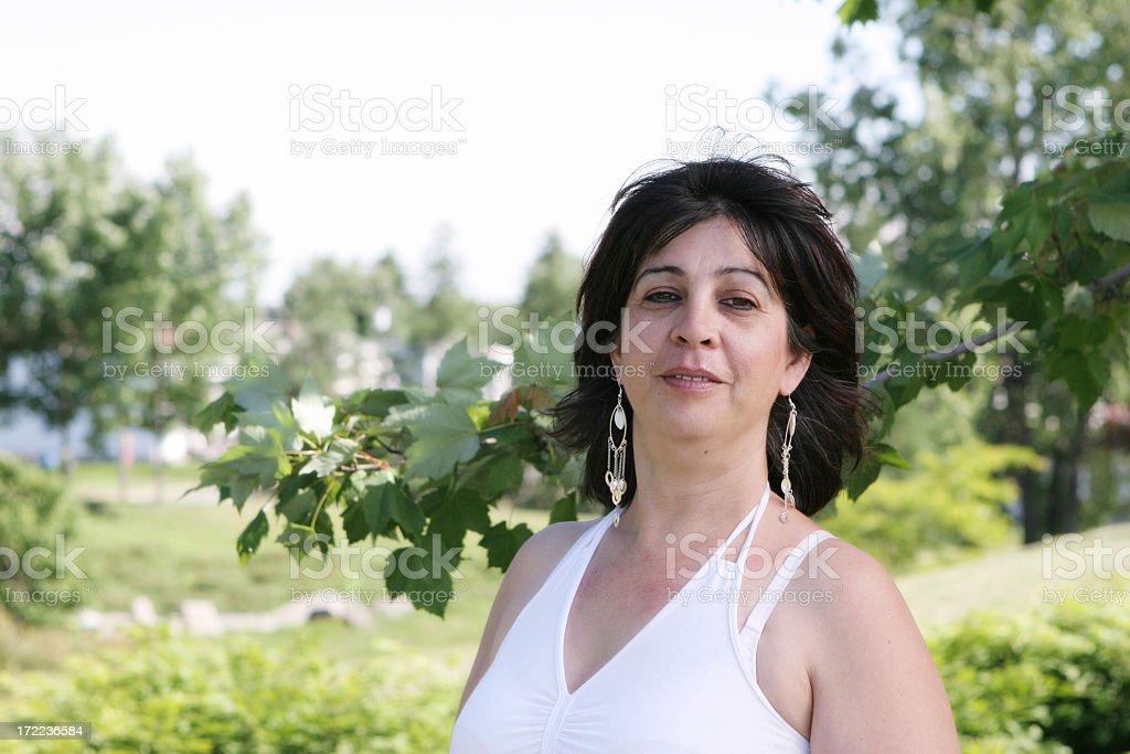 Summer woman royalty-free stock photo