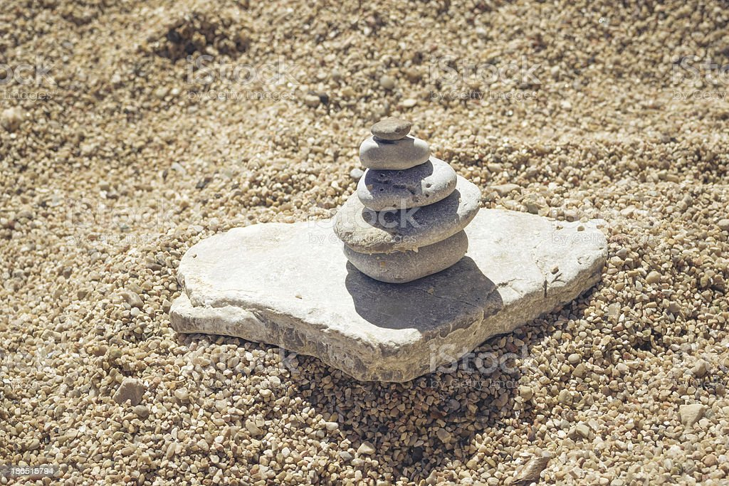 summer zen royalty-free stock photo