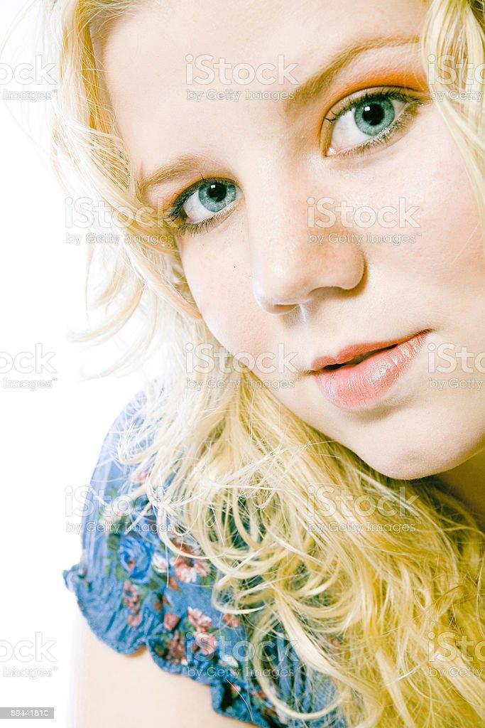 Summergirl foto stock royalty-free