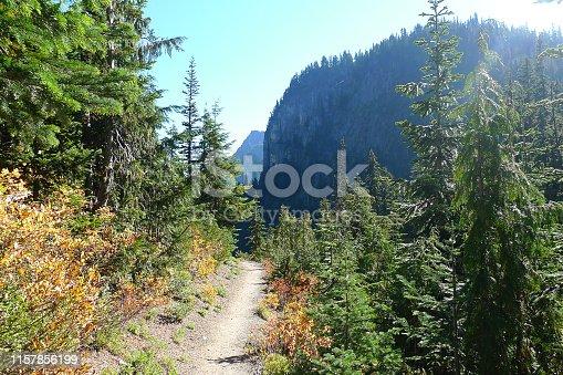 Summerland and Panhandle Gap Trail, Mount Rainier