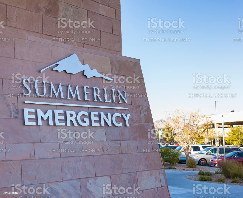Summerlin Hospital Emergency Entrance. Summerlin Hospital is a...