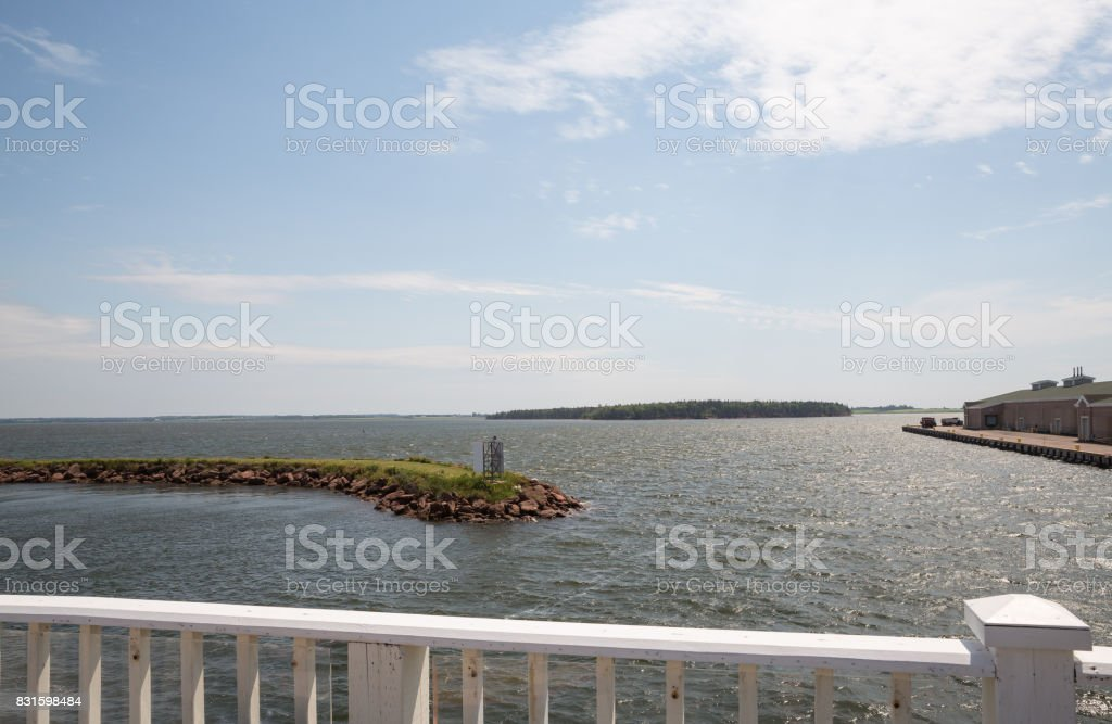 Summerside on Prince Edward Island in Canada stock photo
