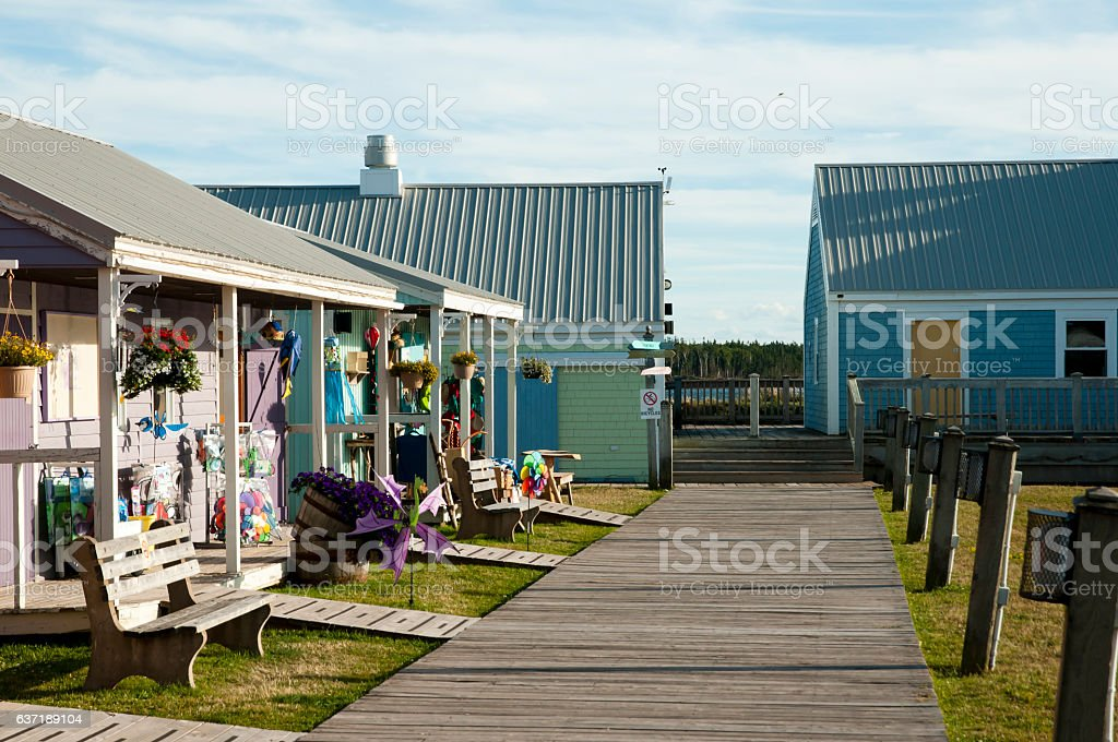 Summerside - Prince Edward Island - Canada stock photo