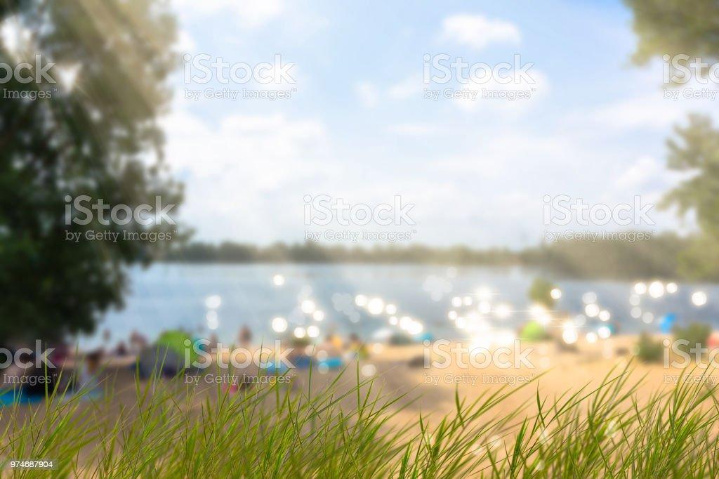 Sommer am Strand – Foto