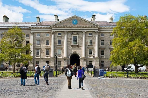 Sommer am Trinity College-Dublin – Foto
