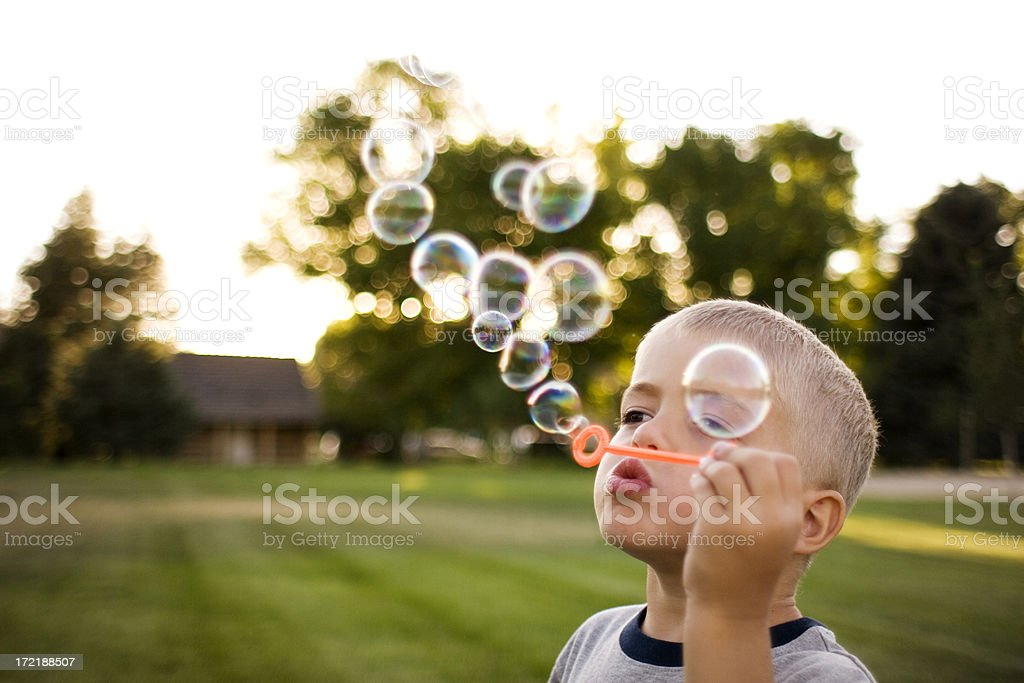 Summertime Bubbles royalty-free stock photo