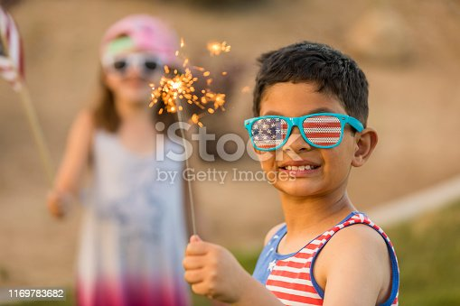High quality stock photos of Fourth of July celebrations, outdoors