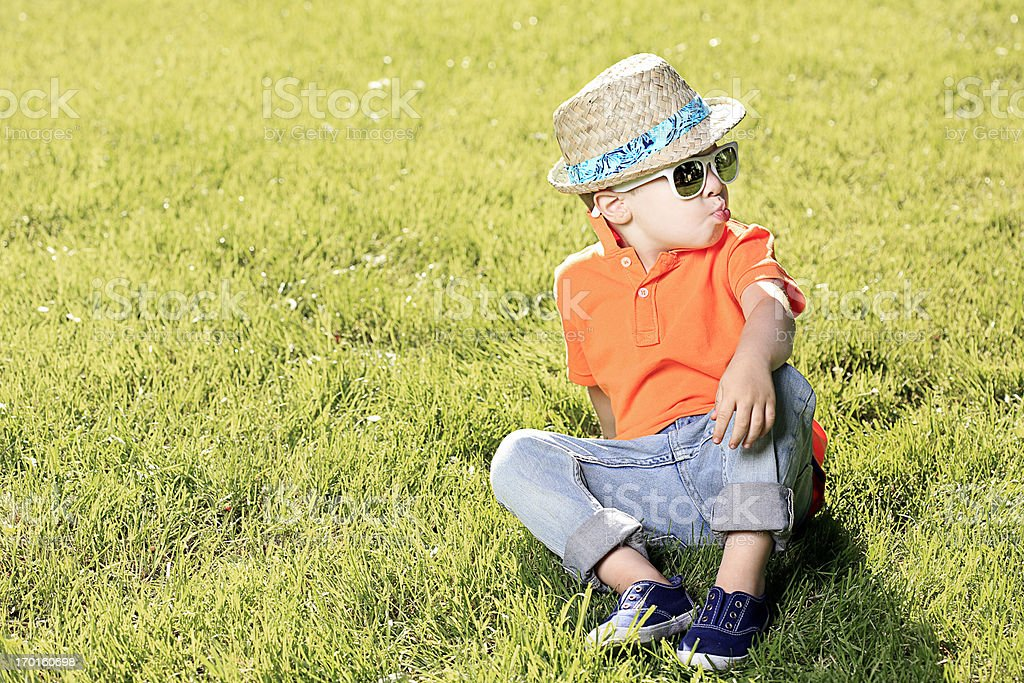 Summertime Cool stock photo