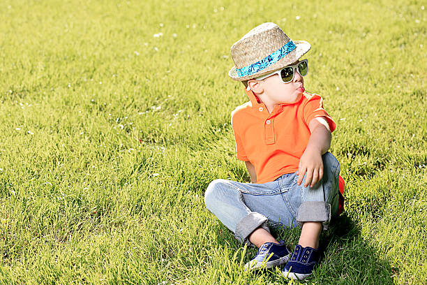 summertime cool - attitude stock photos and pictures