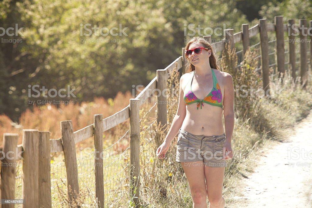 Summertime Freedom royalty-free stock photo