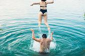 istock Summertime full of love and joy 1255209623