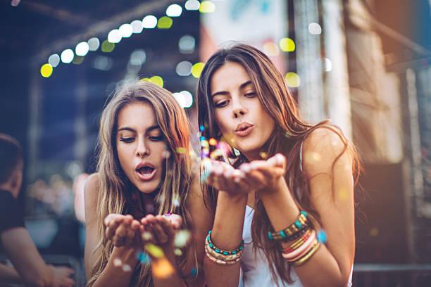 Summertime joy stock photo