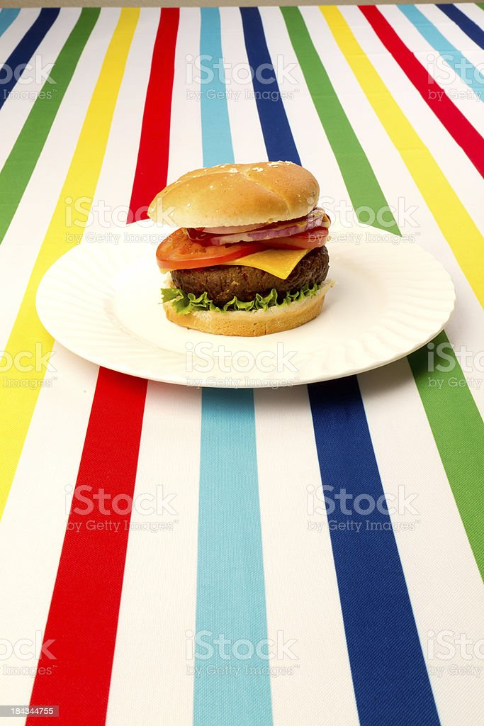 Summertime lunch royalty-free stock photo