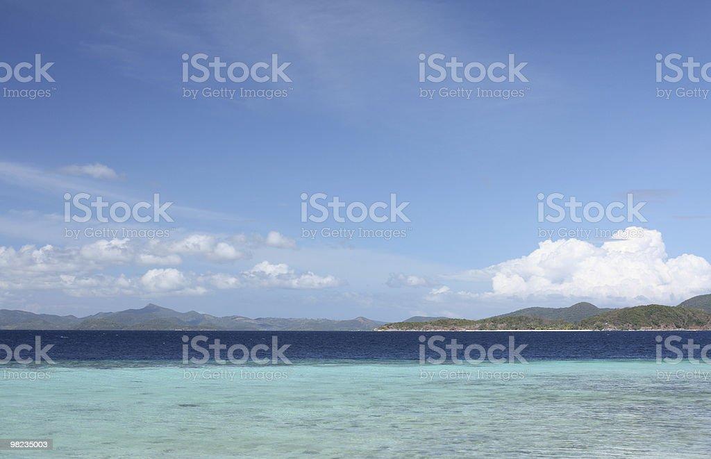 전통적인 여름 이벤트입니다 열대 해변 royalty-free 스톡 사진