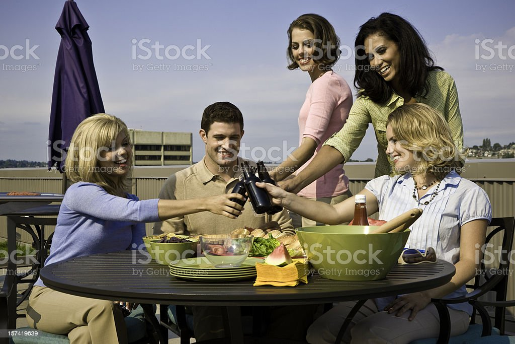 Summertime Party royalty-free stock photo