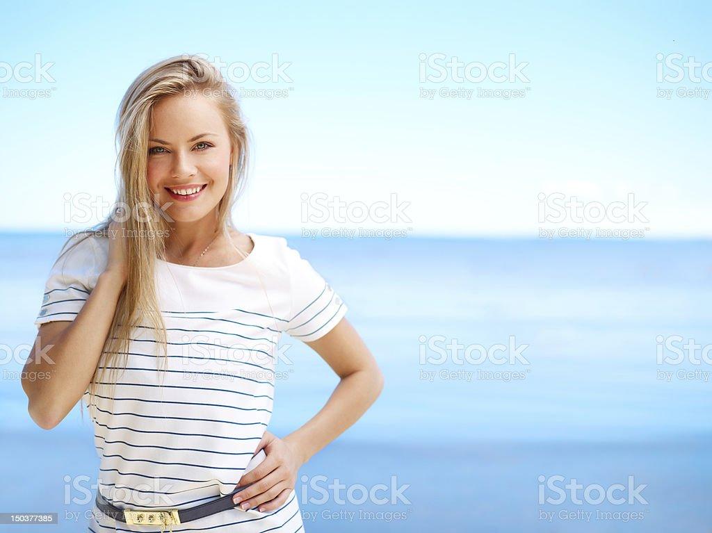 Summertime (medium format image) stock photo