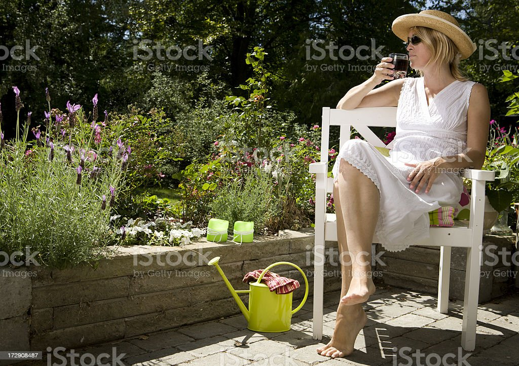 Summertime royalty-free stock photo
