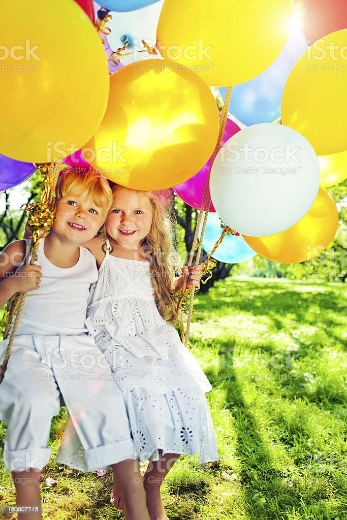 Summer-time royalty-free stock photo