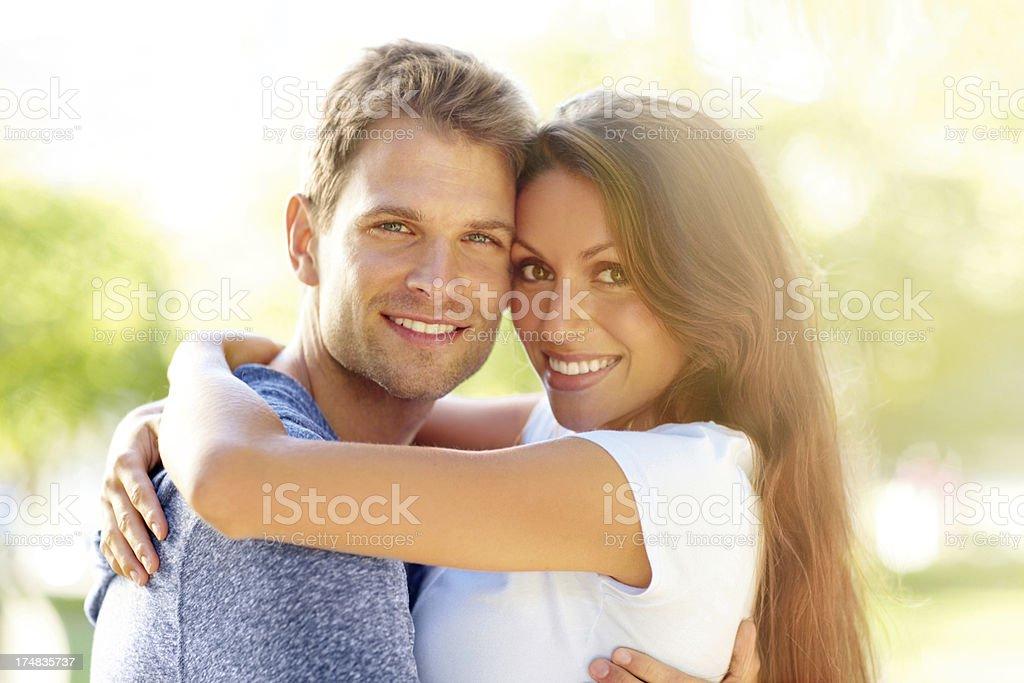 Summertime romance royalty-free stock photo