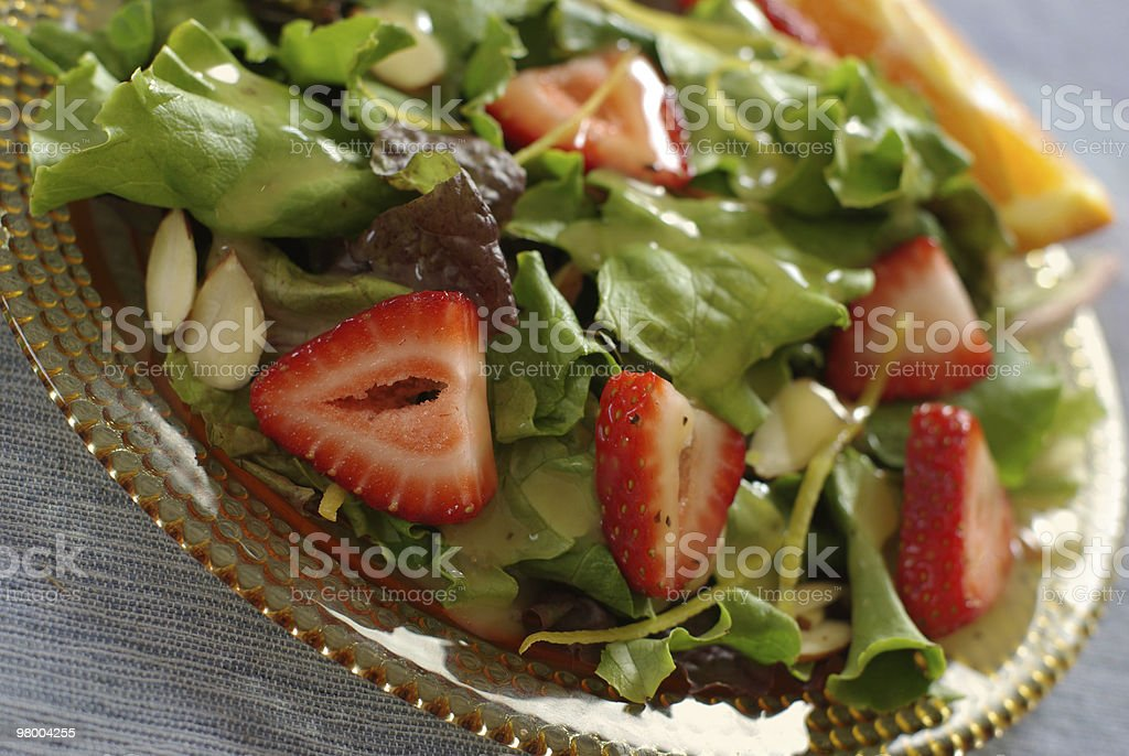 Summertime Salad royalty free stockfoto