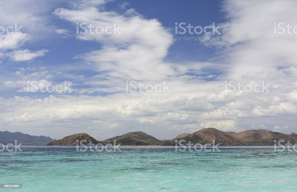 Estate mare tropicale foto stock royalty-free