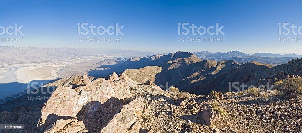 Gipfel-Morgenröte, Death Valley – Foto