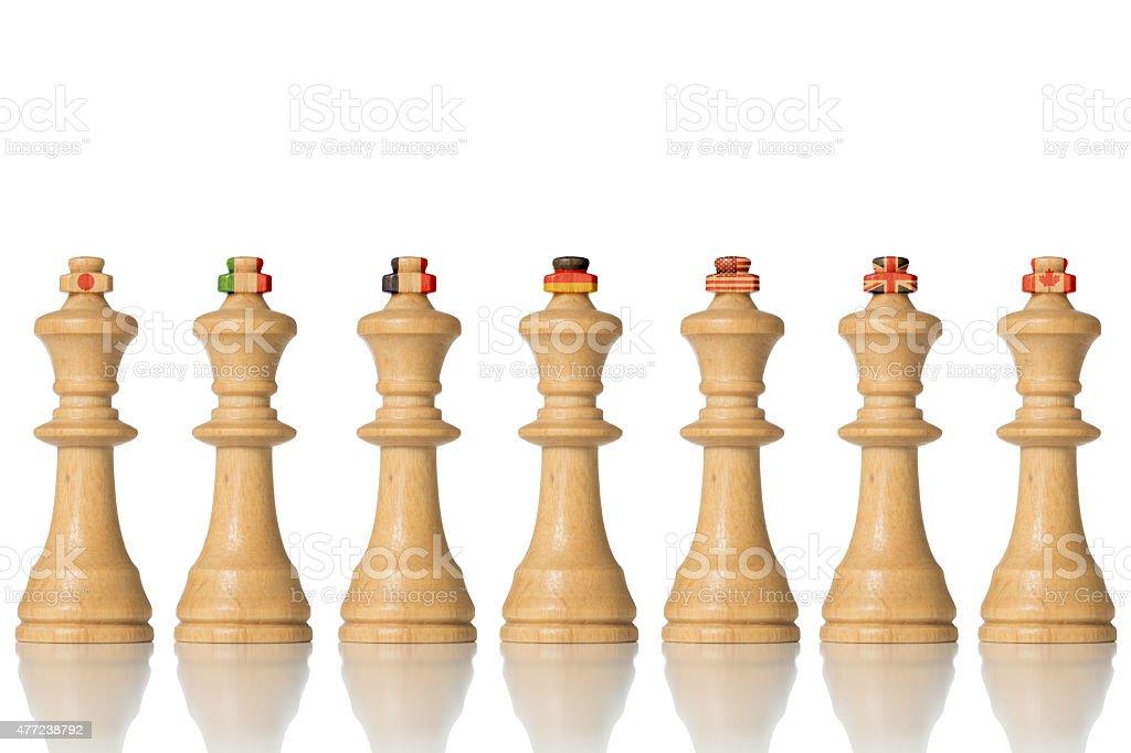 G7 summit, Decision on Greece stock photo