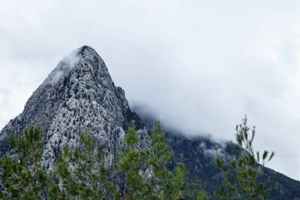 Doğa, zirve Dağı'nın zirvesine stok fotoğrafı