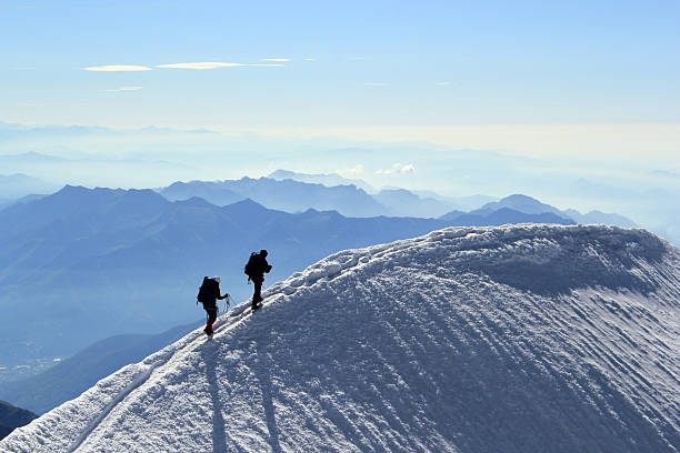 Summit stock photo