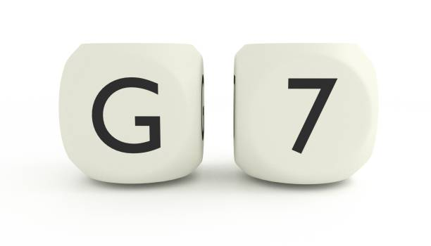 G7 summit stock photo