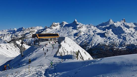 Summit station on Mt Chlingenstock