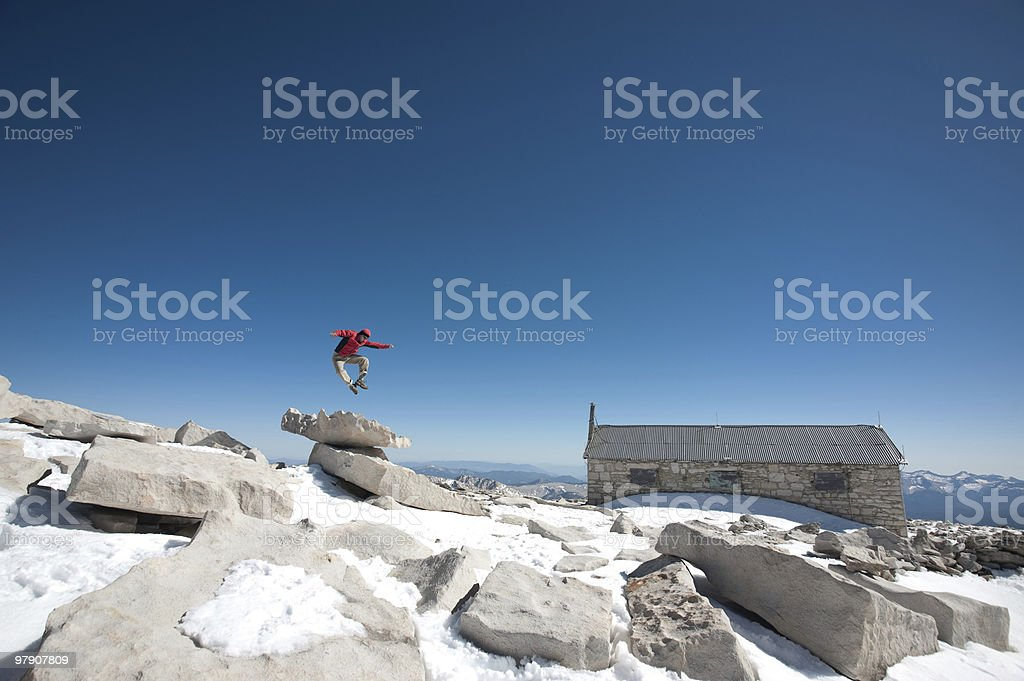 summit time royalty-free stock photo