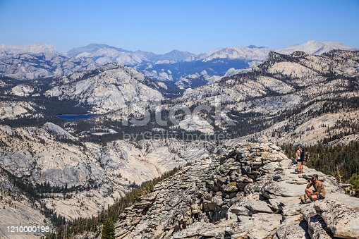Summit View from Clouds Rest, Yosemite National Park California