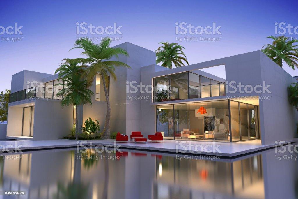 Somptueuse maison moderne - Photo